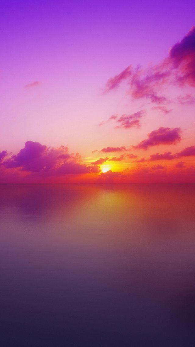 Golden Pink Sunset