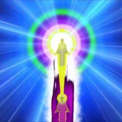 I AM amazing affirmations violet fire spirals pillars Sun presence