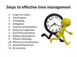 efficient use of time